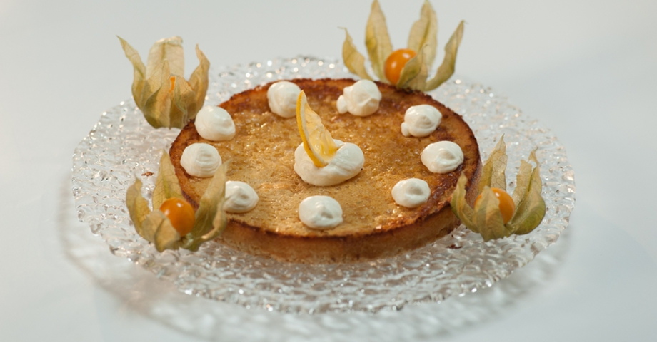 Имбирно-лимонный пирог