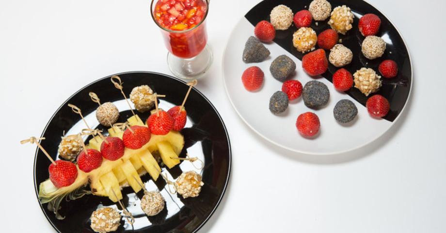 Десерт из фасоли и кураги