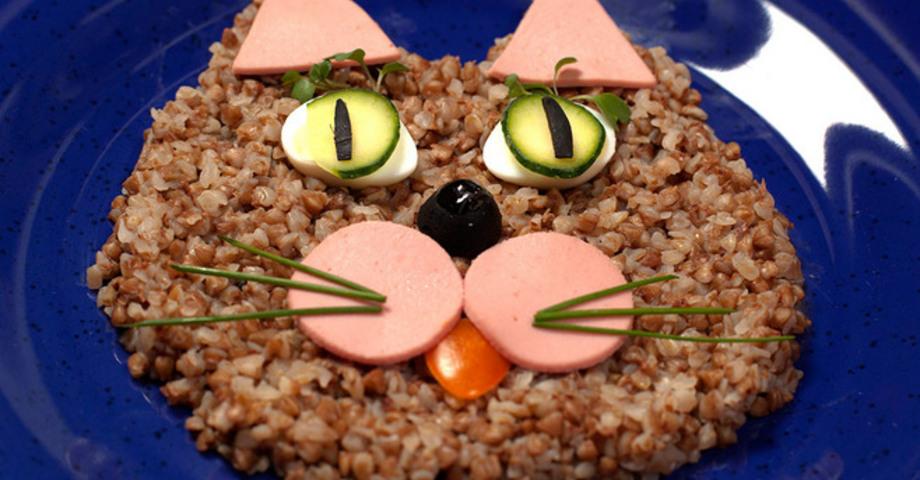 Гречневый котенок