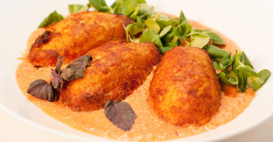 Крученики из индейки с картофелем