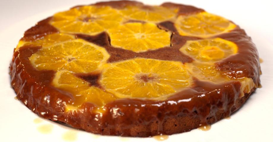 Кофейный тарт с апельсинами