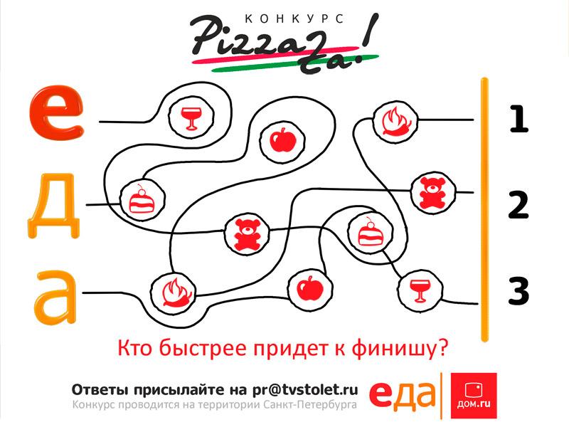 Третий конкурс месяца пиццы