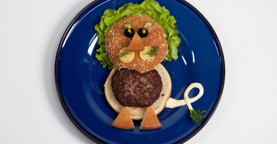 Детский гамбургер