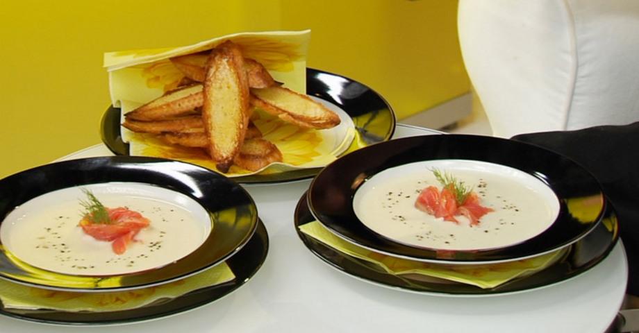 Суп из сельдерея и груши