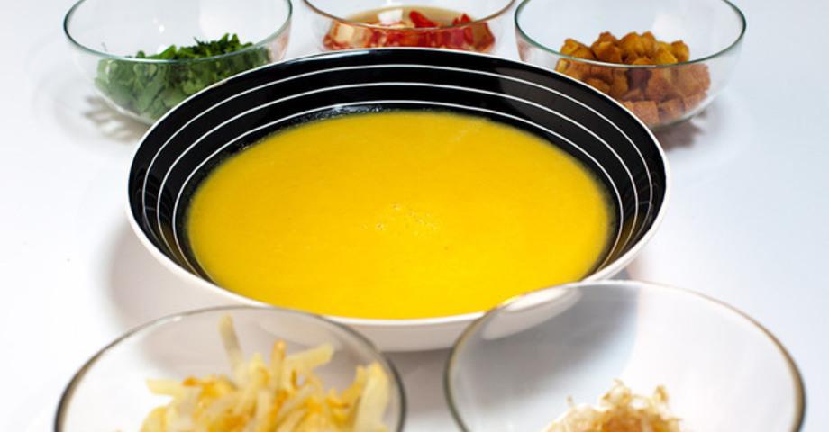 Бирманский чечевичный суп
